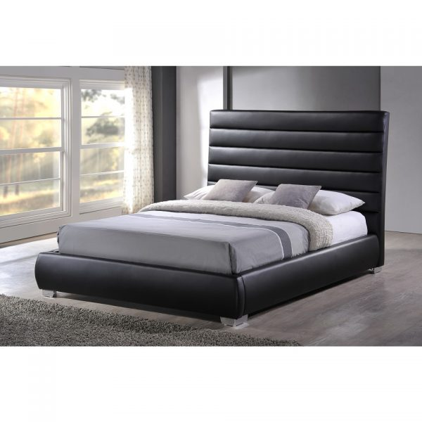 Alexa Bed Frame – Black