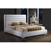 Alexa Bed Frame - White