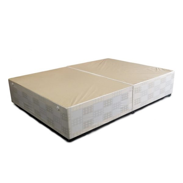 Crown divan base small double 4ft allied furniture for 4ft divan base