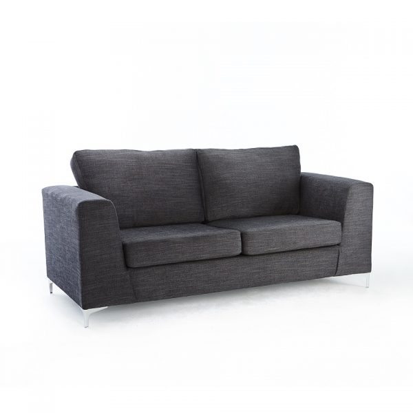 Jennifer 3 Seater – Charcoal