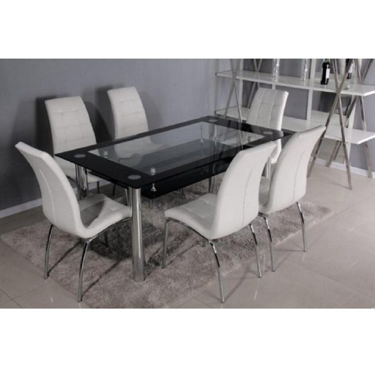 Chairglass Dining Table 6 Chairs : Porta Table 6 Chairs e1481118862887 from homekeep.xyz size 768 x 768 jpeg 46kB
