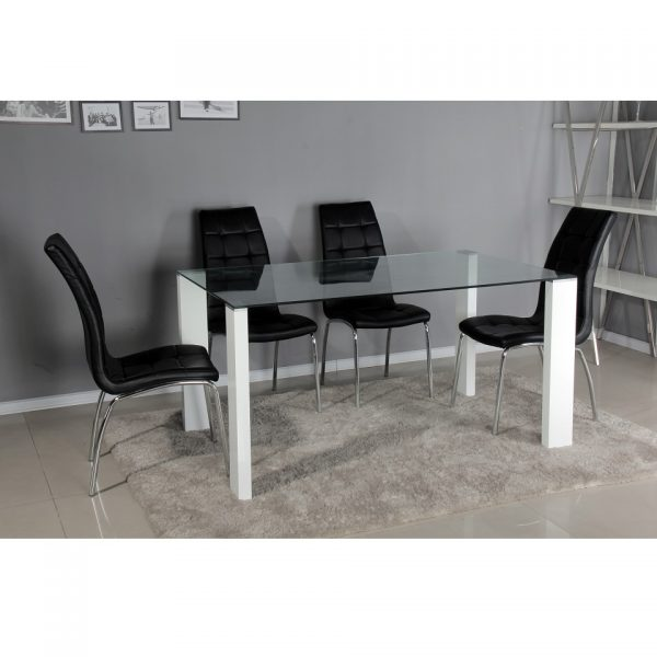 Naples Table + 4 Chairs