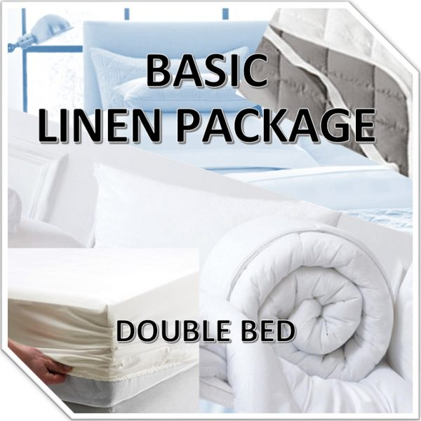 BASIC LINEN PACK – DOUBLE
