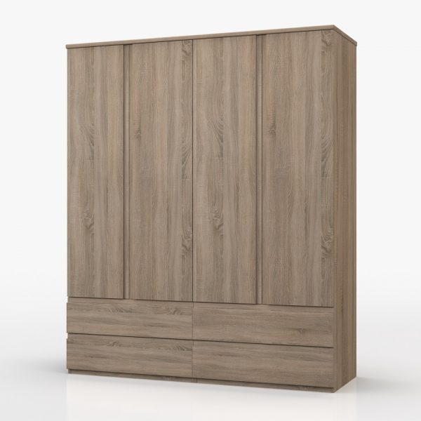 Juliet 4 Door Combi Wardrobe