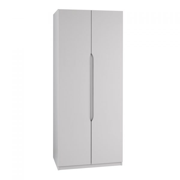 Gloss Double Door Wardrobe – Cashmere
