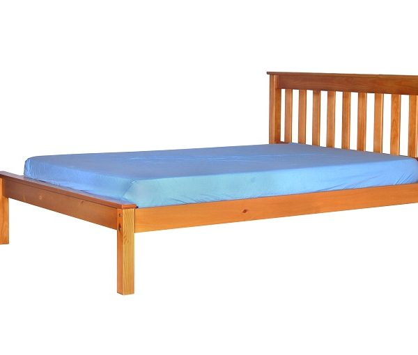 Honey Double Bed Frame