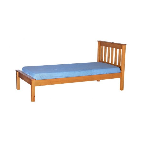 Honey Single Bed Frame