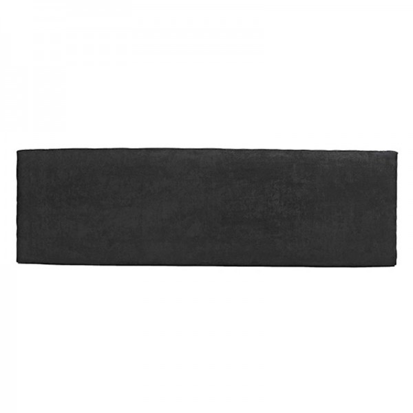 Slim Fabric Headboard – Black