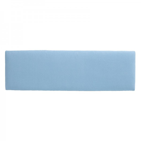Slim Fabric Headboard – Blue