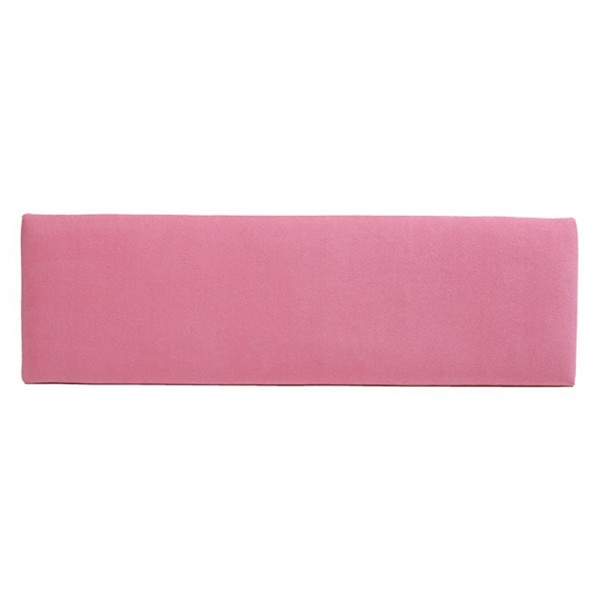 Slim Fabric Headboard – Pink
