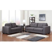 kingsley sofaset grey
