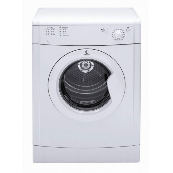 INDESIT START WHITE 7KG VENTED TUMBLE DRYER