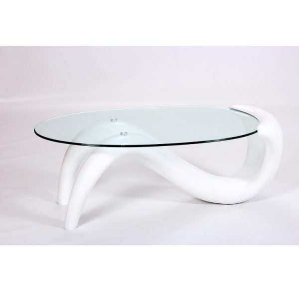 Pike White Coffee Table (H)