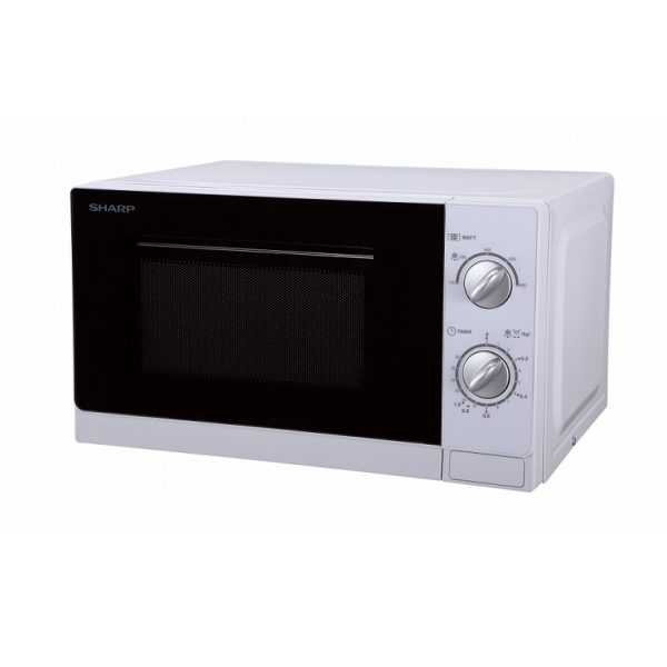 SHARP WHITE 20LTR 800W MICROWAVE